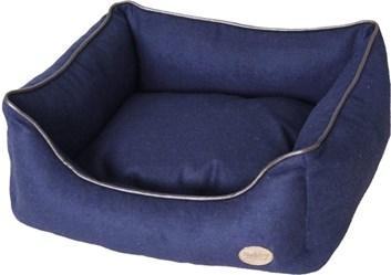 Nobby TIRA bavlněný pelíšek modrý 60x48x19 cm