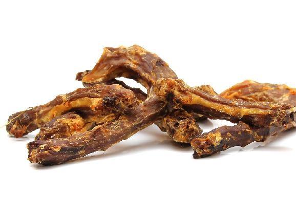 Sušené kuřecí krčky