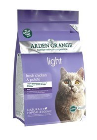 Arden Grange Adult Cat: light chicken & potato - grain free recipe 2 Kg