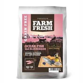Farm Fresh Ocean Fish and Blueberries Indoor/Outdoor Cat 2 Kg