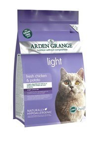Arden Grange Adult Cat: light chicken & potato - grain free recipe 8 Kg