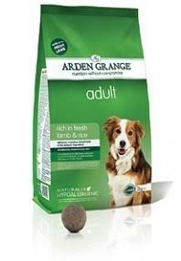 Arden Grange Adult: rich in fresh lamb & rice  24 Kg ( 2 x 12 Kg )