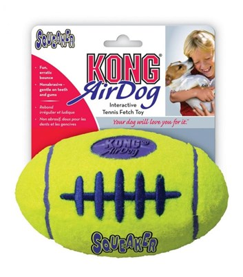 Kong AirDog Football Medium tenisová hračka 13,5 cm