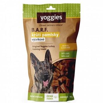 Yoggies B.A.R.F. krůtí výcvikové pamlsky 50 g