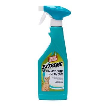 Simple Solution EXTREME Enzymatický odstraňovač zápachu a nečistot pro kočky 500 ml