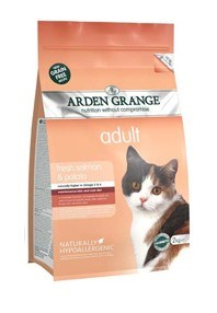 Arden Grange Adult Cat: with fresh salmon & potato - grain free recipe 400g
