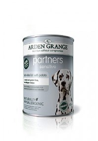 Arden Grange Partners Sensitive Fresh White Fish with Potato 395  g