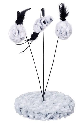 Nobby SNOW Tilu hračka pro kočky 19x32 cm
