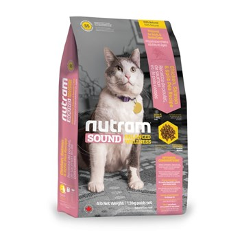 S5 Nutram Sound Adult/Senior Cat 1,8 Kg