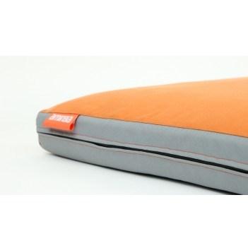 Matrace Aminela - 100x70x10 cm Half and Half (šedá/oranžová)