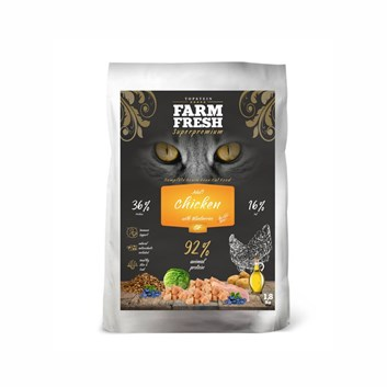 Farm Fresh Cat Adult Chicken with Blueberries Grain Free 1,8 Kg