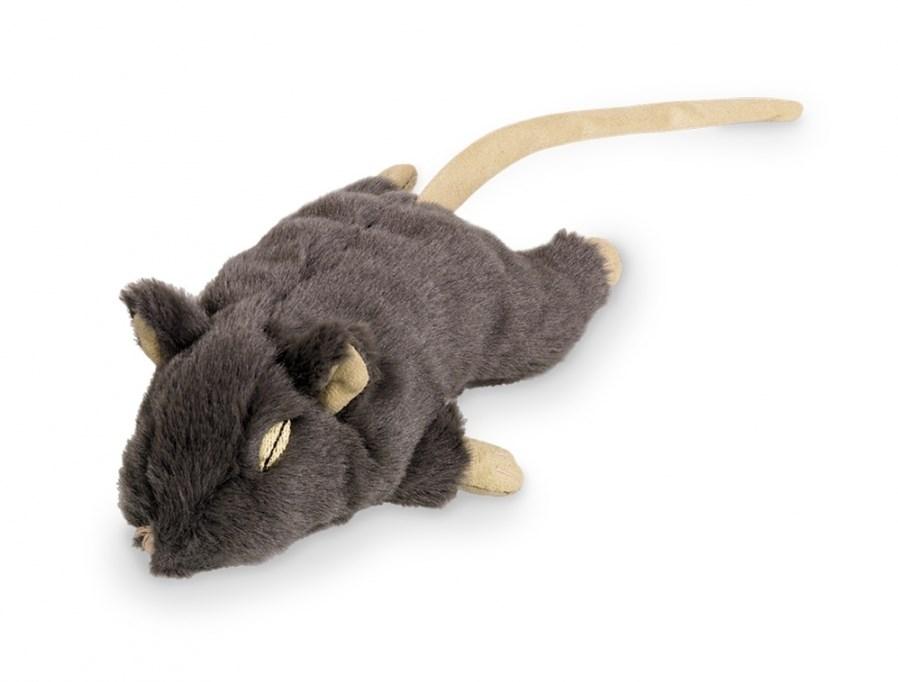 Nobby plyšová myš šedá 19 cm