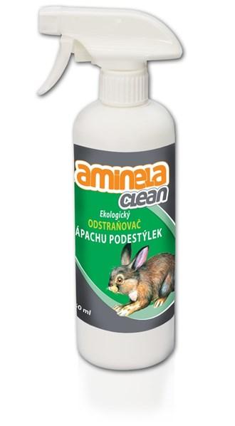 Aminela Clean Ekologický odstraňovač zápachu podestýlek 500 ml