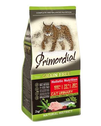 Primordial KRŮTA & SLEĎ pro kočky URINARY 400g