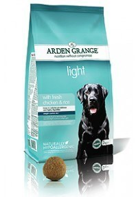 Arden Grange Adult: light with fresh chicken & rice  12 Kg