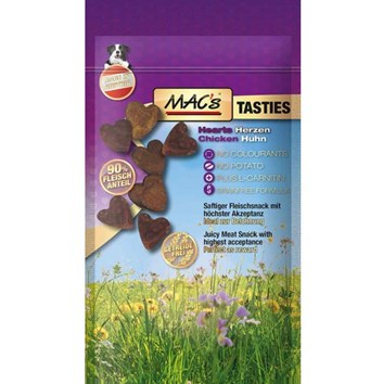 MACs Dog TASTIES SRDÍČKA 60 g