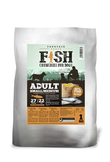Topstein Fish Crunchies Adult Small / Medium 1 Kg