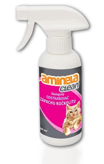 Aminela Clean Ekologický odstraňovač zápachu kočkolitu 250 ml