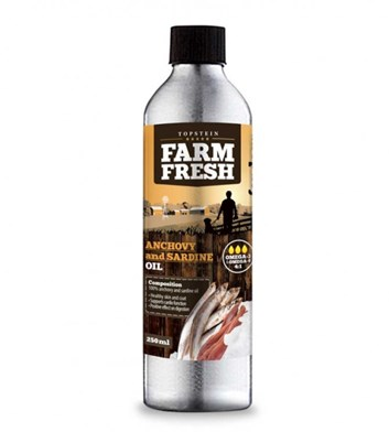 Topstein Farm Fresh Anchovy and Sardine Oil 250 ml