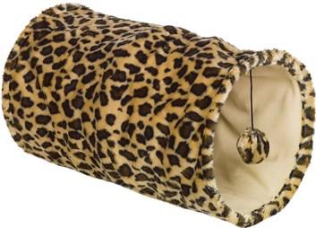 Nobby LEOPARD tunel pro kočky leopardí vzor 25x50 cm