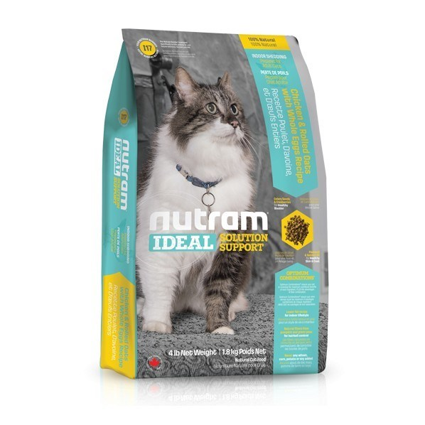 I17 Nutram Ideal Indoor Cat 6,8 Kg