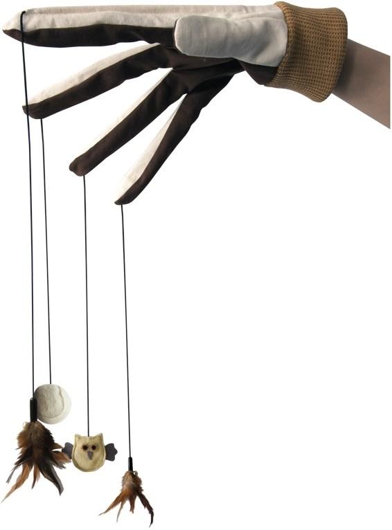 Nobby hračka pro kočky vábící rukavice 4 hračky