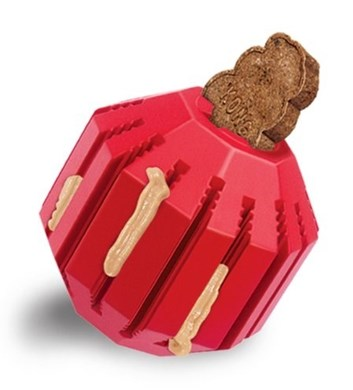 Kong Stuff a Ball M dentální hračka plnící 8 cm