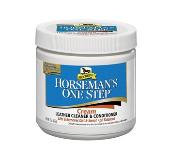Absorbine Horseman´s One Step cream - Čistící balzám na kožené výrobky, balení 425 g