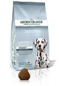 Arden Grange Sensitive: Ocean White Fish and Potato 24 Kg ( 2 x 12 Kg )