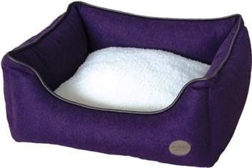 Nobby CARAN plstěný pelíšek purpurový 45x40x18 cm