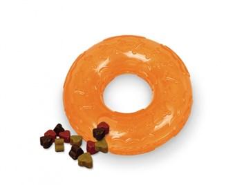 Nobby TRP Snack Ring plnící kruh malý 10 cm oranžová