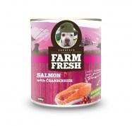 Farm Fresh salmon with peas & cranberries 750 g 5+1 zdarma