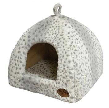 Nobby Alanis kukaň leopard šedá 40x40x35 cm
