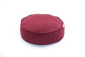 Kulatý pelíšek Aminela Full comfort 50/12cm červená
