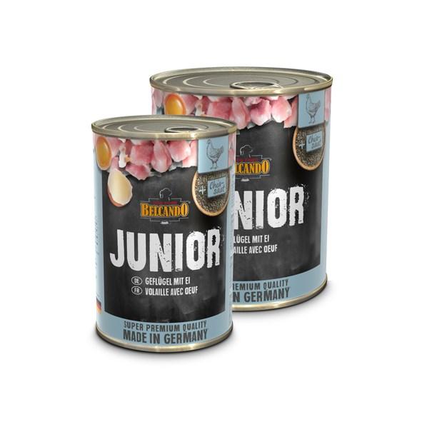 Belcando Junior poultry & eggs  6 x 800 g