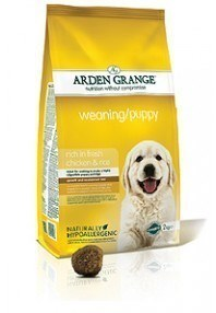 Arden Grange Weaning/Puppy: rich in fresh chicken & rice  15 Kg
