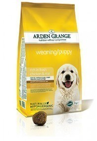 Arden Grange Weaning/Puppy: rich in fresh chicken & rice  15 Kg