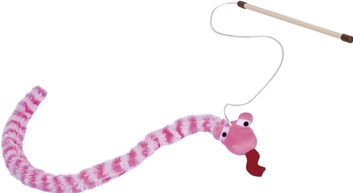 Nobby hračka pro kočky udice had růžová 118 cm