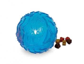 Nobby TRP Snack Ball plnící hračka velká 10 cm modrá