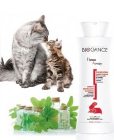 Biogance šampón Fleas away - CAT Antiparaz. 250 ml