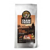 Farm Fresh – Chicken & Turkey Active/Puppy Grain Free 25 Kg ( 15 kg + 10 Kg )