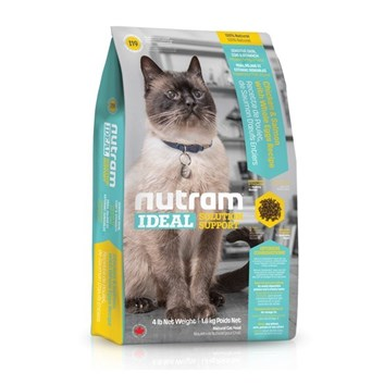 I19 Nutram Ideal Sensitive Cat 6,8 Kg