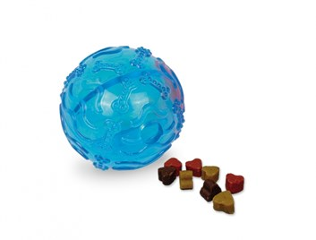 Nobby TRP Snack Ball plnící hračka malá 8 cm modrý