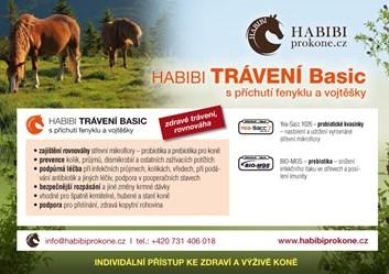 HABIBI speciální směs - TRÁVENÍ Basic 1,3 Kg - 26 dní