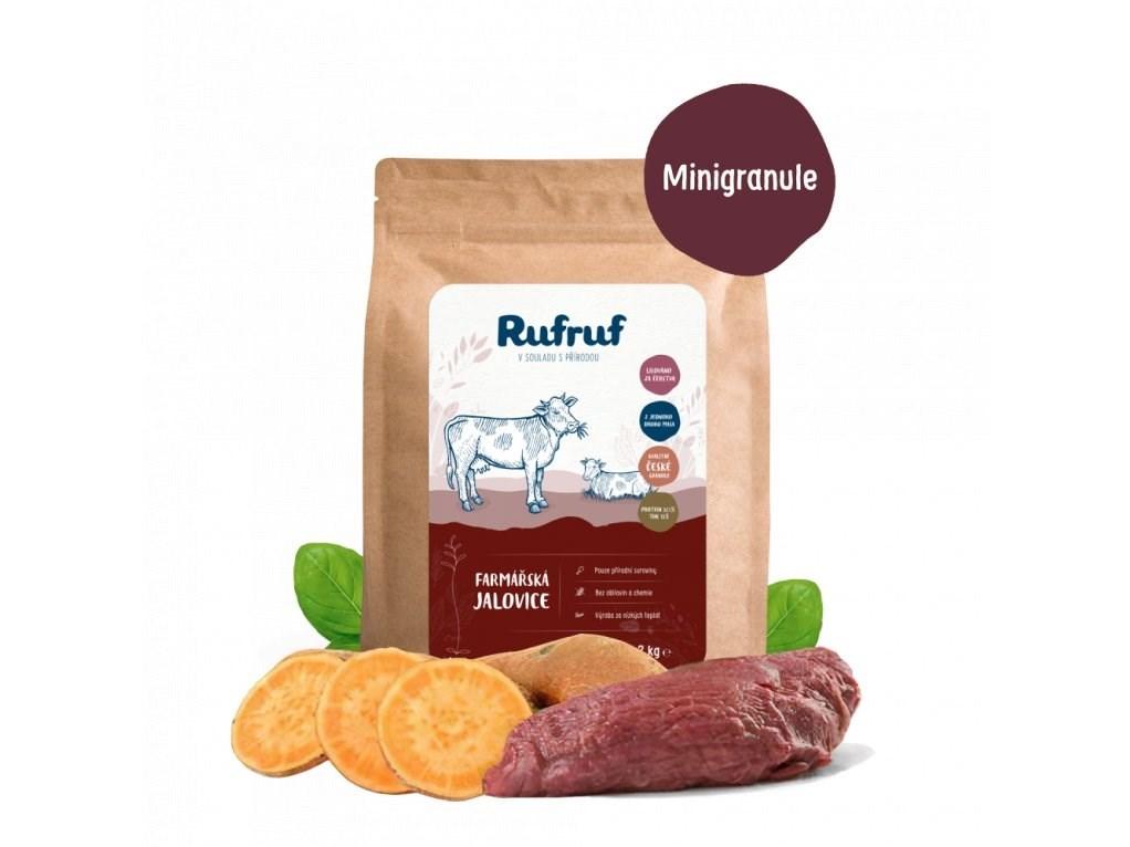 Rufruf Farmářská jalovice MINIGRANULE 6 Kg