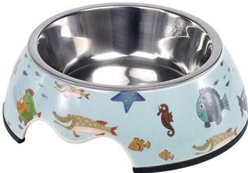 Nobby Fish nerez miska v pouzdře podmořský svět 160 ml
