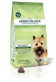 Arden GrangeAdult: mini rich in fresh lamb & rice  2 Kg
