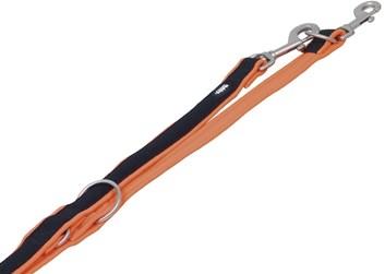 Nobby MESH PRENO vodítko neoprén oranžové L/XL 200 cm