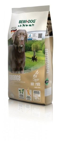 BEWI DOG Balance - with rice 800 g