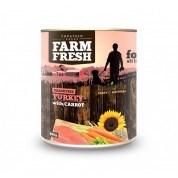Farm Fresh – Turkey with Carrot 800 g